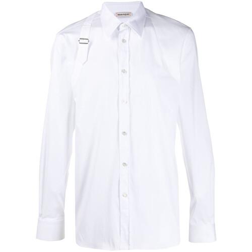 Camicia con finte bretelle
