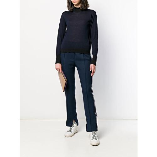 Maglione bicolore