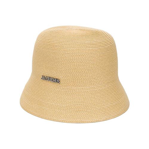 Cappello bucket intrecciato