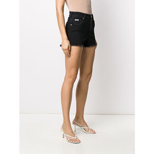 Frayed hipster shorts