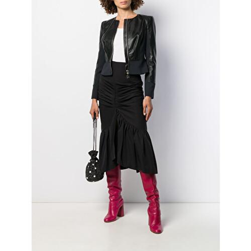 Faux leather jacket