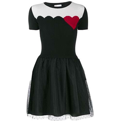 Heart detail dress