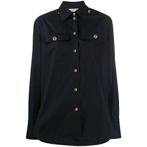 Camicia con bottoni gioiello