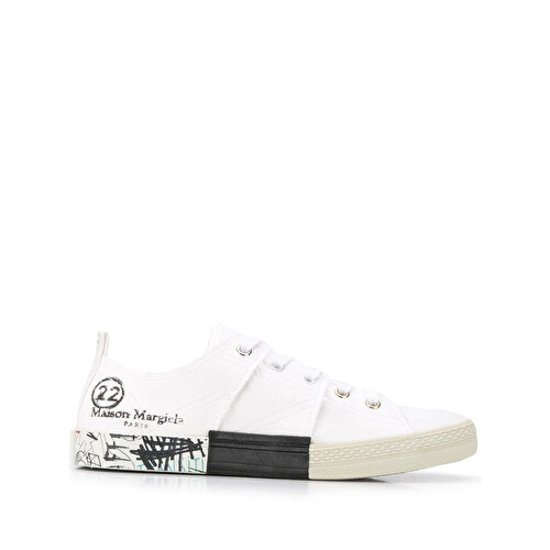 Sneakers con stampa logo