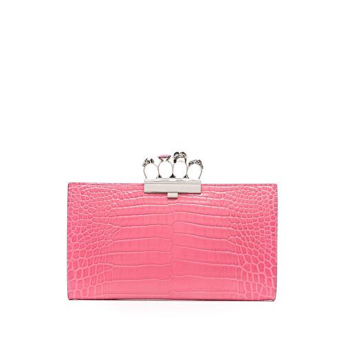 'Four Ring' clutch bag