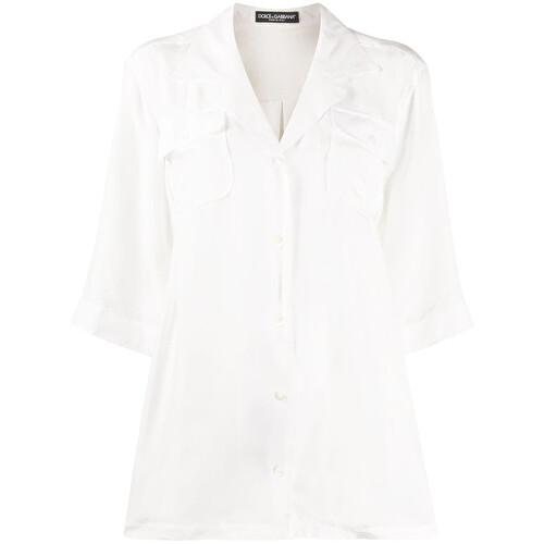 Camicia oversize in seta