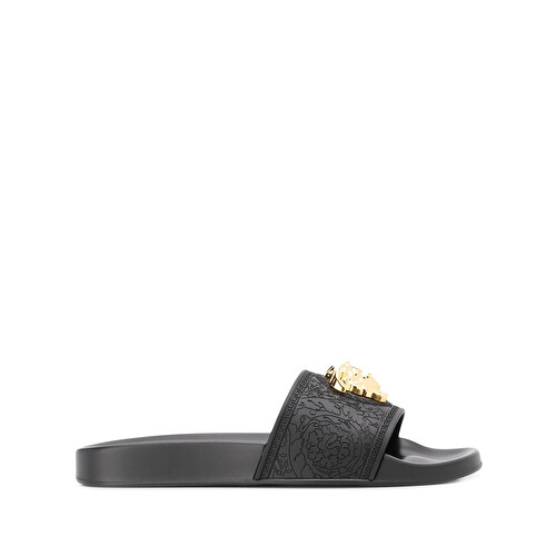 'Medusa' logo slippers