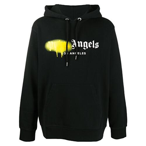 'Los Angeles' sprayed logo hoodie