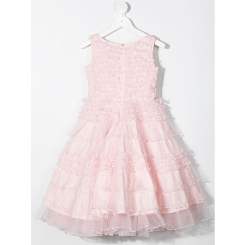 Ruffled tiered dress