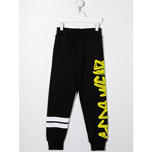 Pantalone tuta con stampa graffiti