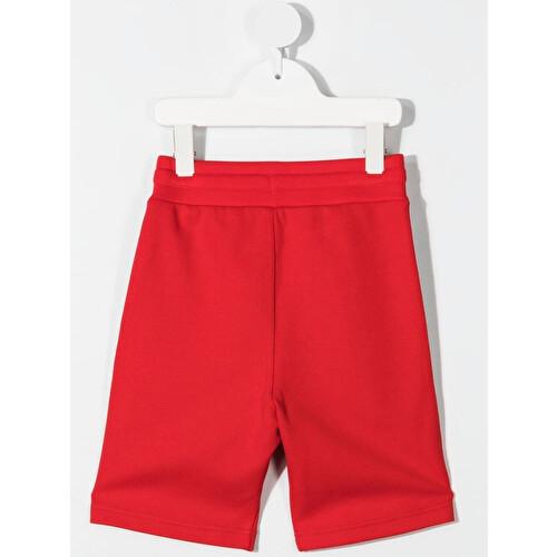 Logo-trim shorts