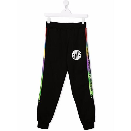 Pantalone tuta con logo