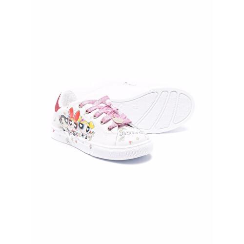 Sneakers con stampa grafica