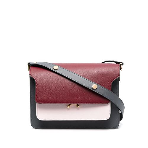 'Trunk' colour-block bag