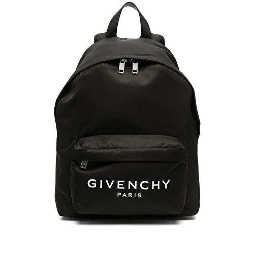 Logo-print backpack