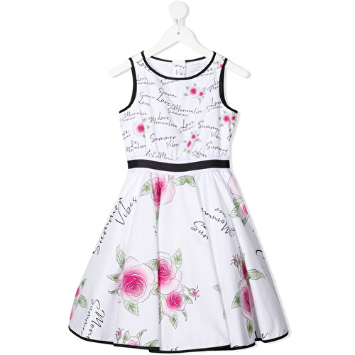 All-over floral print dress