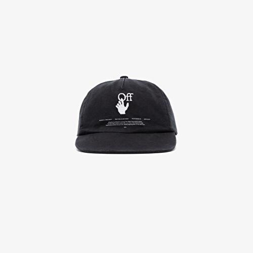 Hands Off logo cap