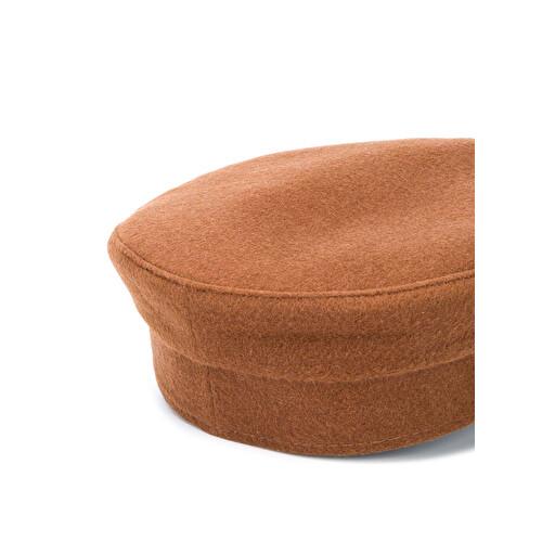 Cappello 'baker boy' con ricamo