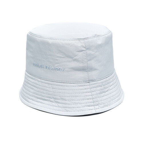 Embroidered logo bucket hat