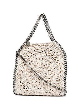 Small 'Falabella crochet tote bag