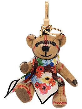 'Thomas Bear' key charm
