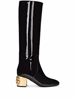Stivali al ginocchio con tacco DG