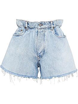 Shorts denim paperbag