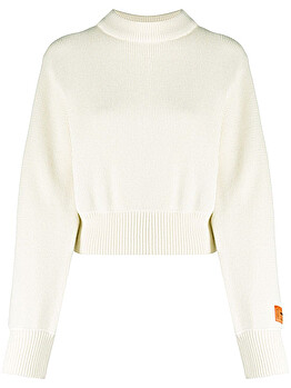 Logo patch jumper