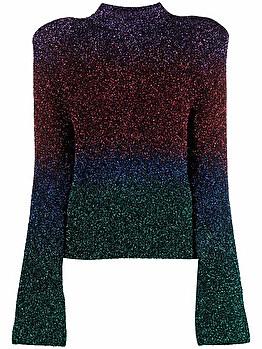 Maglione con design colour-block